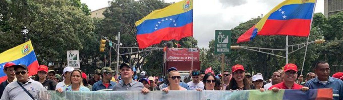 Motor Minero acompañó al presidente Nicolás Maduro en su Memoria y Cuenta