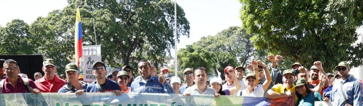 Mppdme marchó en defensa de la paz y soberanía de Venezuela