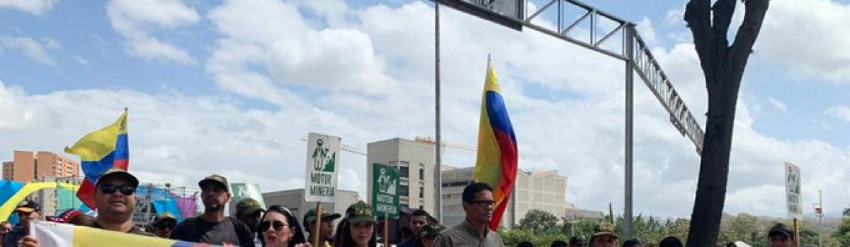 Motor Minero conmemoró en la calle Día de la Juventud