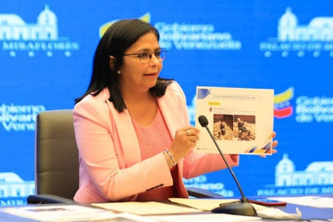 delcy-rodriguez-juan-guaido-pretende-robase-el-oro-que-tiene-venezuela-en-el-banco-de-inglaterra