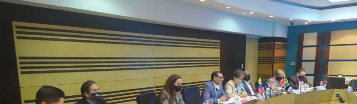 Venezuela y Sudáfrica afinan estrategias de negocios para el desarrollo minero nacional
