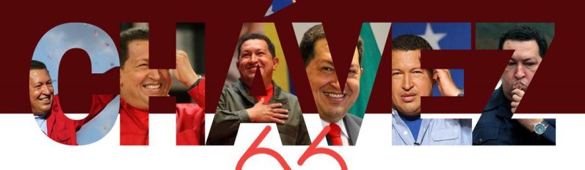 Cumpleaños 66 del comandante Hugo Chávez celebra la fuerza de sus palabras