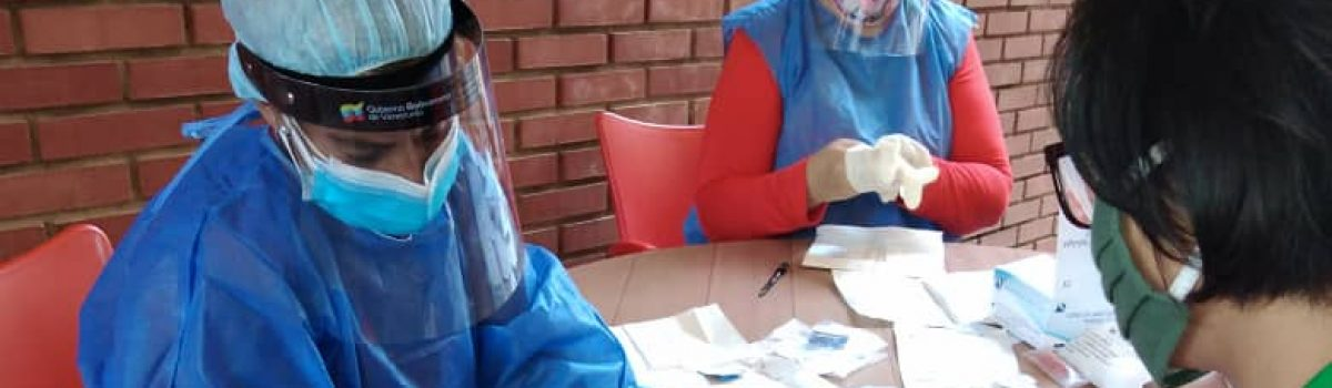 Jornada de despistaje de la Covid-19, se realizó a trabajadores de INGEOMIN