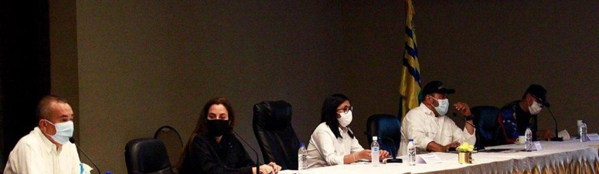 Ministra Magaly Henríquez participó en encuentro con representantes de plantas de lixiviación del estado Bolívar