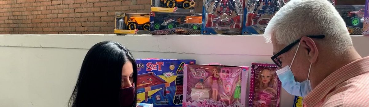 Mppdme realizó jornada especial de juguetes para los niños y niñas de la fuerza laboral minera