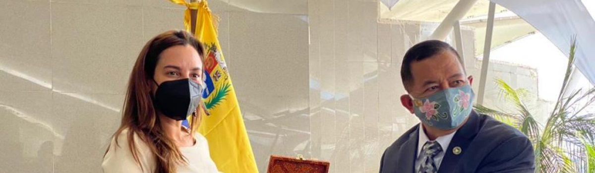 Embajador de Indonesia conoció las potencialidades mineras de Venezuela