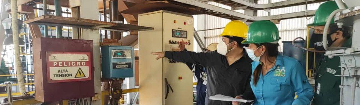 Motor Minero evalúa el cumplimiento de políticas ambientales en plantas del AMO