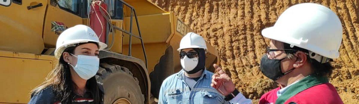 Ministra Magaly Henríquez inspeccionó instalaciones de la Planta Loma de Níquel