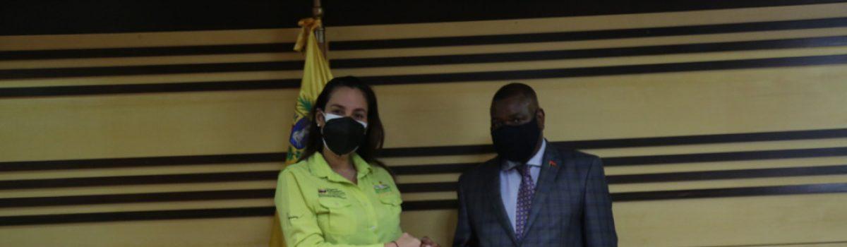 Venezuela y Angola afianzan relaciones bilaterales en materia diamantífera