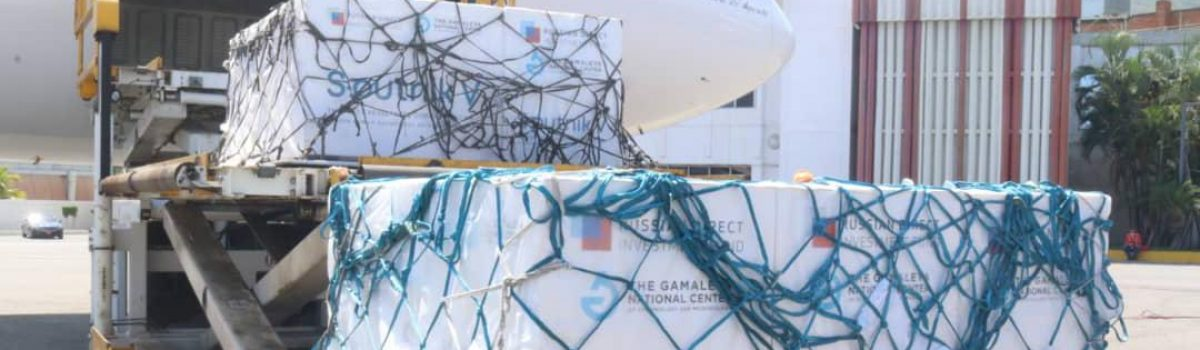 Arriban a Venezuela otras 80 mil dosis de vacunas rusas Sputnik-V
