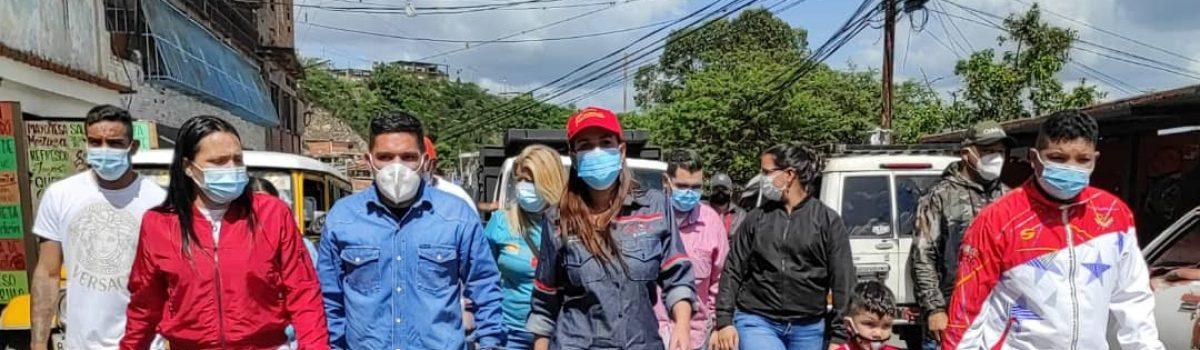 Gobierno del Distrito Capital y Motor Minero inspeccionaron asfaltado en La Vega