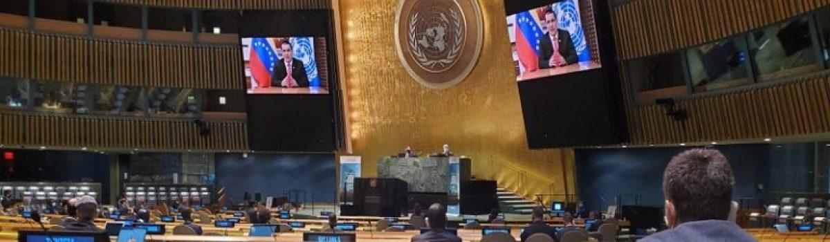 ASAMBLEA DE NACIONES UNIDAS | Venezuela ratifica compromiso para prevenir y combatir la corrupción en todas sus dimensiones
