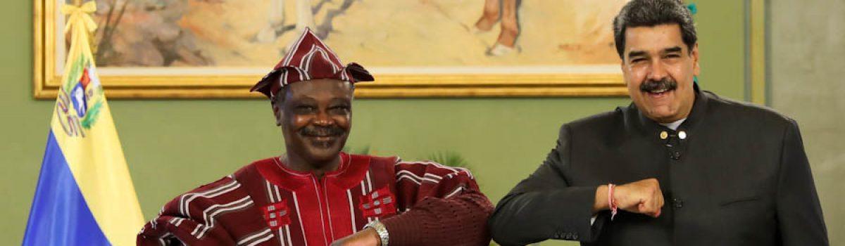 Presidente Maduro recibió cartas credenciales de Guinea Bissau, Nigeria y Burkina Faso