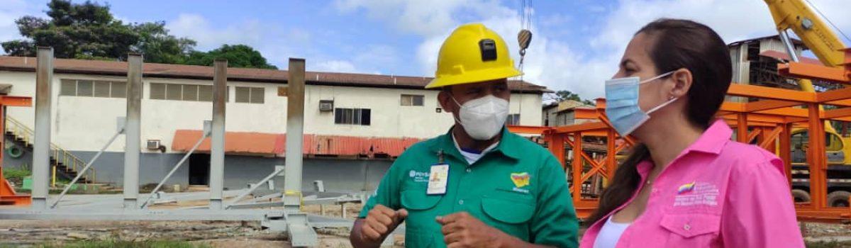 Motor Minero inspeccionó plantas y minas de Minerven