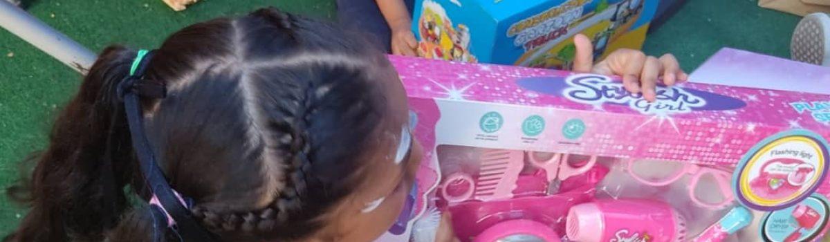 Motor Minero entregó juguetes en la Casa Hogar Luneritos